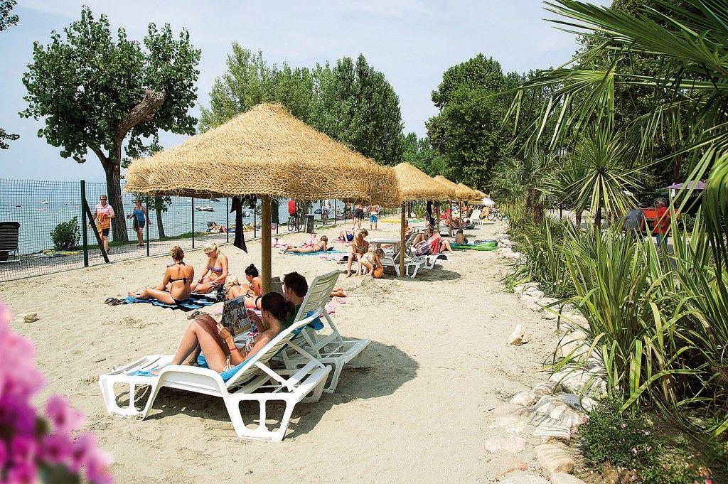 Feriendorf Cisano San Vito - Mobilehome Happy Stan   Gardasee - Lago di Garda