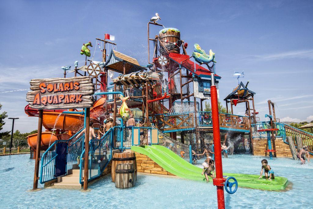 Ferienpark Solaris Beach Resort Mobilehome Happy Premium am Hafen 2878