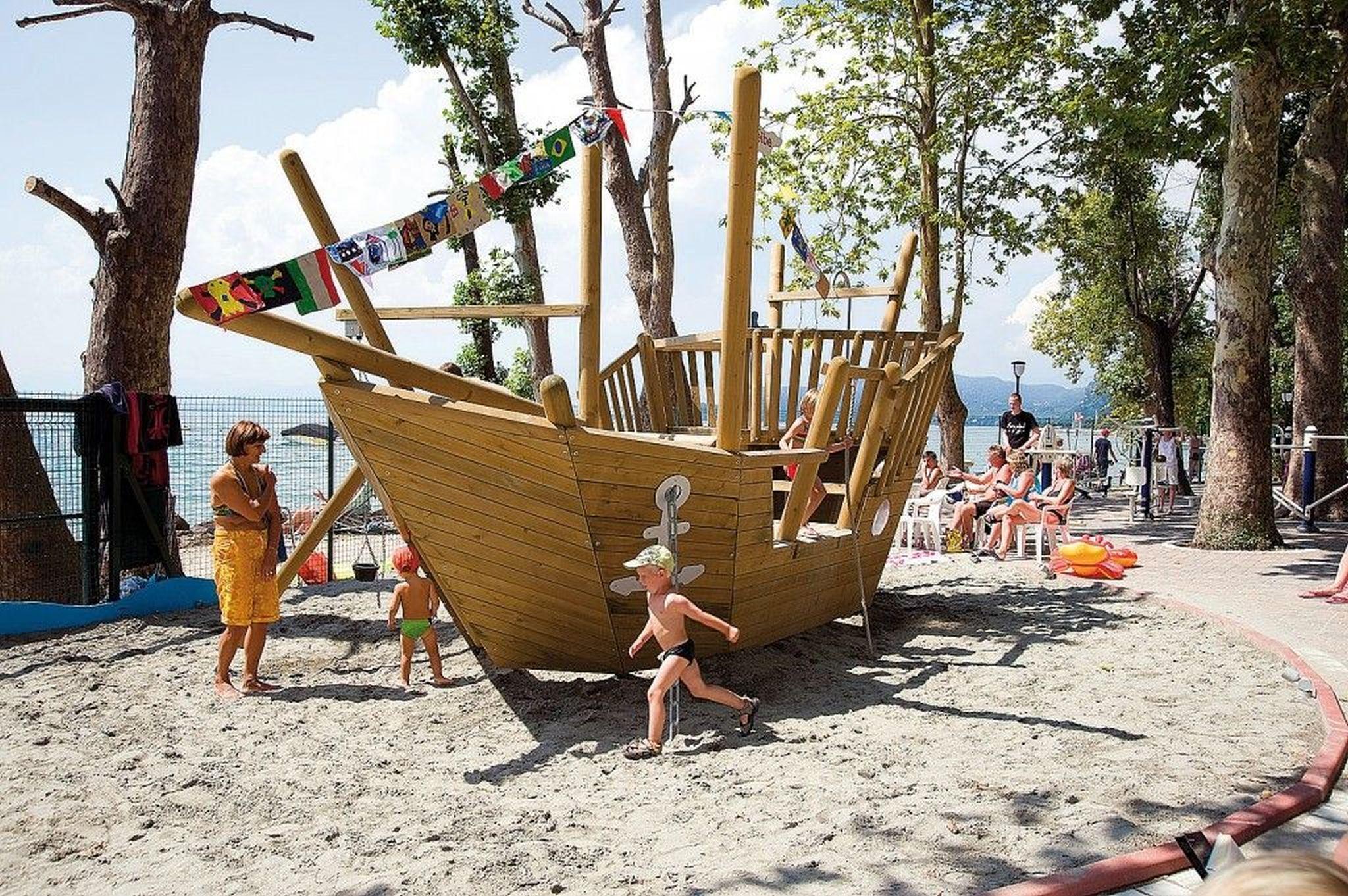 Feriendorf Cisano San Vito - Mobilehome Happy Prem   Gardasee - Lago di Garda